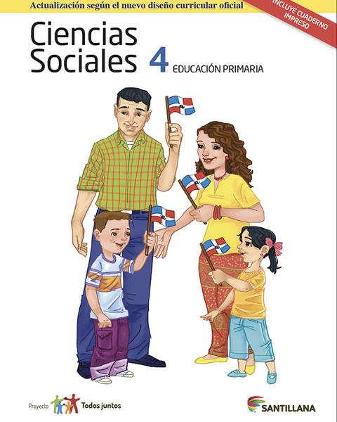 Imagen de PACK CIENCIAS SOCIALES 4 SERIE T JUNTOS 2017