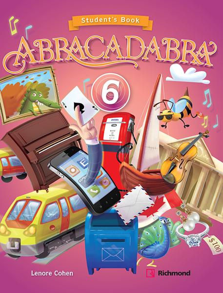 Imagen de KIT ABRACADABRA 6 (SB + CD)