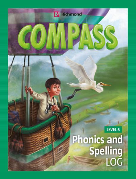 Imagen de COMPASS LEVEL 5 PHONICS AND SPELLING LOG