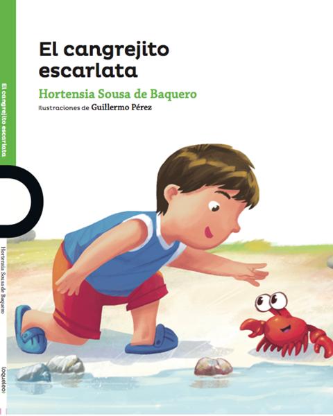 Imagen de EL CANGREJITO ESCARLATA - LOQUELEO