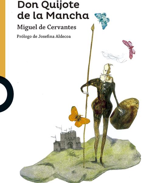 Imagen de DON QUIJOTE DE LA MANCHA (NARANJA)
