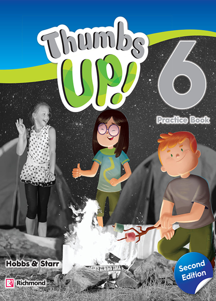 Imagen de THUMBS UP! SECOND EDITION 6 PRACTICE BOOK