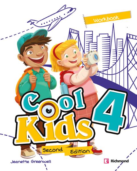 Imagen de COOL KIDS SECOND EDITION 4 WORKBOOK
