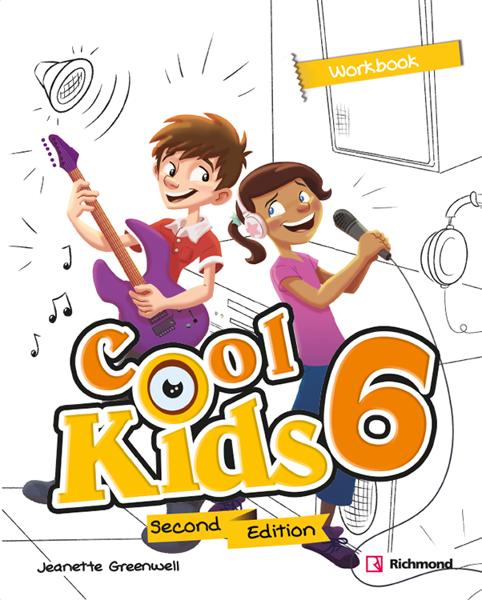 Imagen de COOL KIDS SECOND EDITION 6 WORKBOOK