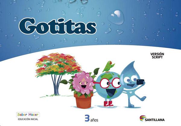 Imagen de CARPETA GOTITAS 3 AÑOS SCRIPT SABER HACER