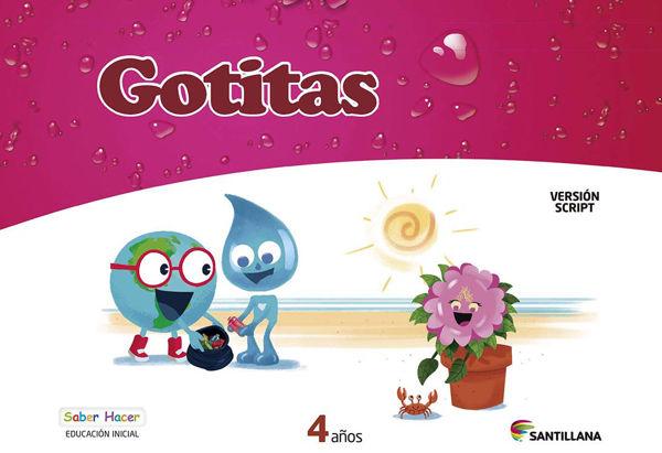 Imagen de CARPETA GOTITAS 4 AÑOS SCRIPT SABER HACER