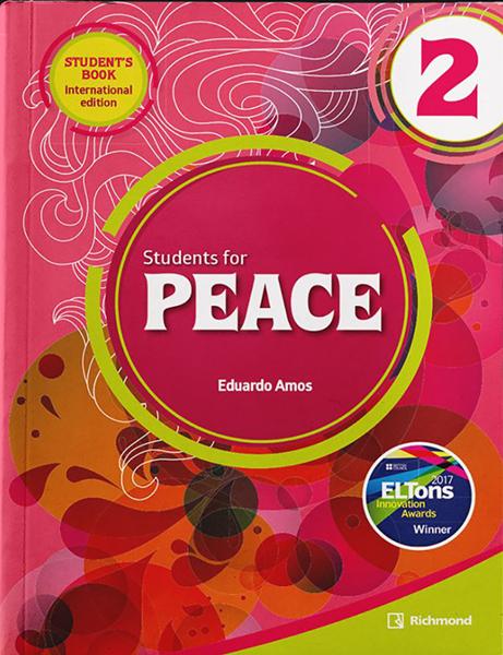 Imagen de PACK STUDENTS FOR PEACE INTERNATIONAL 2 (ST+WB)