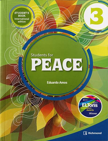 Imagen de PACK STUDENTS FOR PEACE INTERNATIONAL 3 (ST+WB)