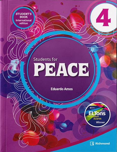 Imagen de PACK STUDENTS FOR PEACE INTERNATIONAL 4 (ST+WB)
